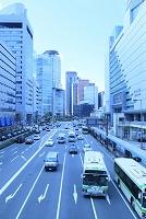 大阪府 大阪駅前のビル群と街並