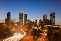 アメリカ合衆国 アトランタ 夜景