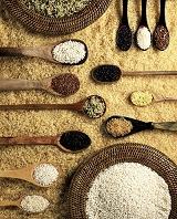 様々な種類の米