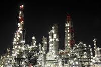 茨城県 鹿島の工場夜景