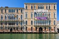 イタリア ヴェネチア ドルソドゥーロ地区&大運河 大運河 カ...