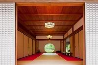 神奈川県 明月院の丸窓