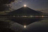 山中湖のパール富士