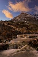 グレイシャー国立公園 スイフトカレント湖