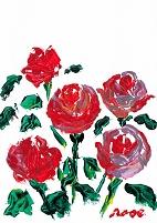 意思を持つ薔薇
