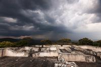 メキシコ モレロス州 ソチカルコ遺跡