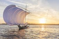 茨城県 帆引き船