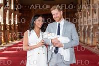 メーガン妃が第一子を出産 ウィンザー城でお披露目