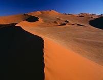 ナミビア ナミブ砂漠 ソサスブレイ 砂丘 ナミブ・ナウクルフ...