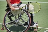車いすテニス選手