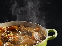 鍋の中のカレー