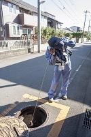 水道管の漏水調査