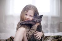ペットと女の子