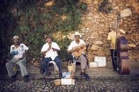 キューバのストリートミュージシャン