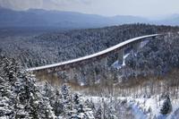 北海道 冬の三国峠