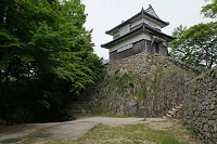 岡山県 備中松山城 二重櫓