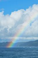 沖縄県 国頭村 沖縄本島 やんばるに架かる虹