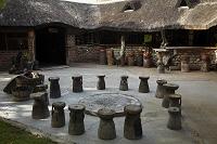 ナミビア キャンプ場 バー
