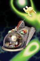 ブリキの宇宙船
