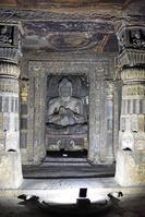 インド アジャンター石窟群 第17窟 本堂