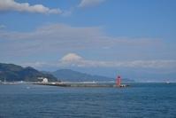 静岡県 清水港 富士山