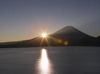 山梨県 富士山  日の出
