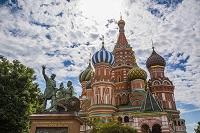 モスクワ 赤の広場 聖ワシリー大聖堂(ポクロフスキー聖堂)