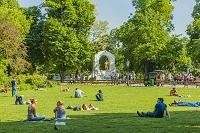 オーストリア ウイーン 市立公園