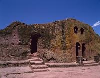 エチオピア ラリベラ 岩窟教会群 ベタ・マリアム