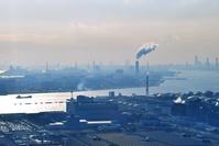 東京都  東京湾と工業地帯