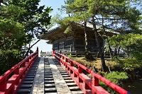 宮城県 五大堂と透(すかし)橋