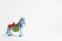 小幡土人形鞍付き馬