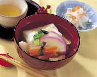 雑煮(関東風)