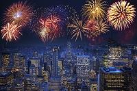 アメリカ合衆国 ニューヨーク 花火