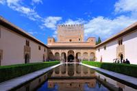 スペイン アルハンブラ宮殿 ナスル宮殿