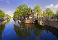 オランダ アムステルダム プリンセングラハト運河