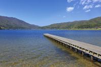 木崎湖 桟橋