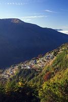 長野県 おおぎびら展望台より天空の里