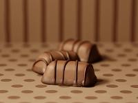 3つのチョコレート
