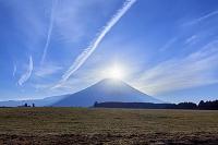 静岡県 朝霧高原 ダイヤモンド富士