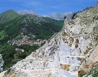 イタリア トスカーナ州 カッラーラ 大理石採石場