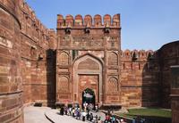 インド アーグラ城塞 アマル・シング門