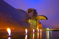 スペイン ビルバオ グッゲンハイム美術館
