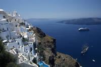 ギリシャ サントリーニ島 街並み