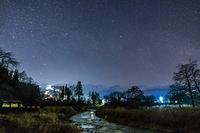 長野県 夜の大出公園
