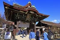 京都府 初詣の北野天満宮