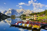 イタリア ドロミテとミズリーナ湖