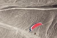 ペルー イカ地域 パラグライダー