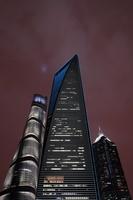 上海 高層ビル群の夜景