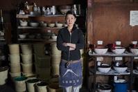 江戸小紋職人の日本人女性